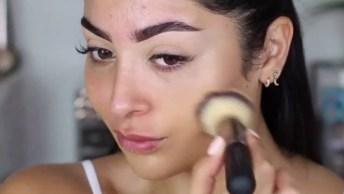 Inspiração De Maquiagem Linda, Sem Parecer Que Esta Com Make, Confira!