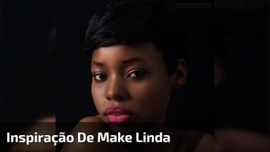 Inspiração De Maquiagem Maravilhosa, Com Pele Bem Trabalhada E Linda Sombra!