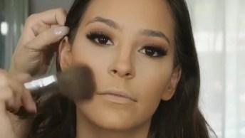 Inspiração De Maquiagem Maravilhosa E Super Fácil De Fazer!