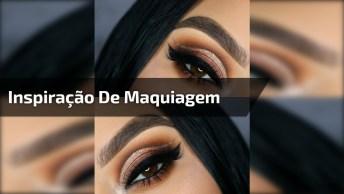 Inspiração De Maquiagem No Tom Marrom Para O Fim De Semana!