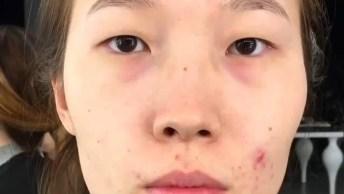 Inspiração De Maquiagem Para Asiáticas, Olha Só Que Linda!