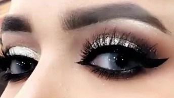 Inspiração De Maquiagem Para Compartilhar No Facebook, Que Lindo Esses Olhos!