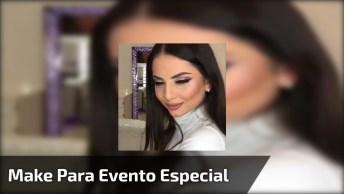 Inspiração De Maquiagem Para Eventos Especiais, Veja Que Sombra Incrível!