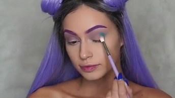 Inspiração De Maquiagem Para Festas A Fantasia, Olha Só Que Linda!