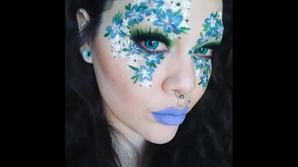 Inspiração de maquiagem para festas á fantasia