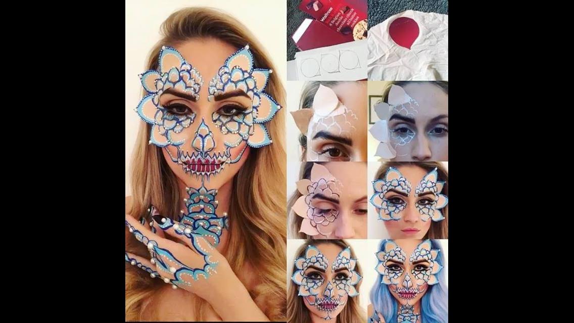 Inspiração de maquiagem para festas a fantasia