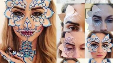 Inspiração De Maquiagem Para Festas A Fantasia, Simplesmente Maravilhosa!