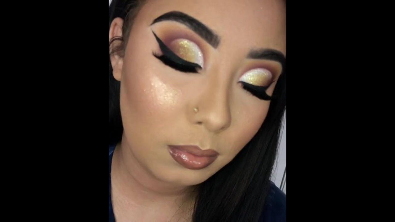 Inspiração de maquiagem para festas, olha esta sombra que perfeita!!!