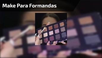 Inspiração De Maquiagem Para Formandas, Você Vai Se Apaixonar Por Esta Make!