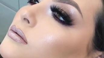 Inspiração De Maquiagem Para Formatura Magnifica, Veja Esta Sombra Que Linda!