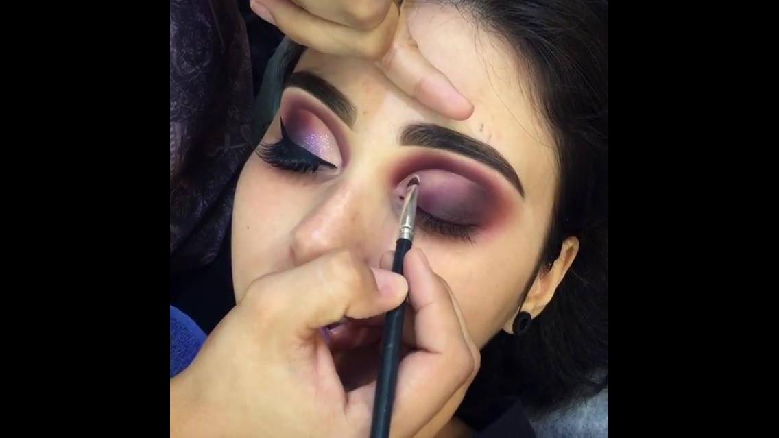 Inspiração de maquiagem para formatura, olha só estas sombras!!!!