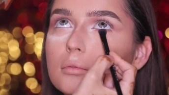 Inspiração De Maquiagem Para Garotas Com Contorno, Veja Que Coisa Mais Linda!