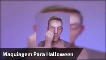 Inspiração De Maquiagem Para Halloween, Digna De Um Prêmio!