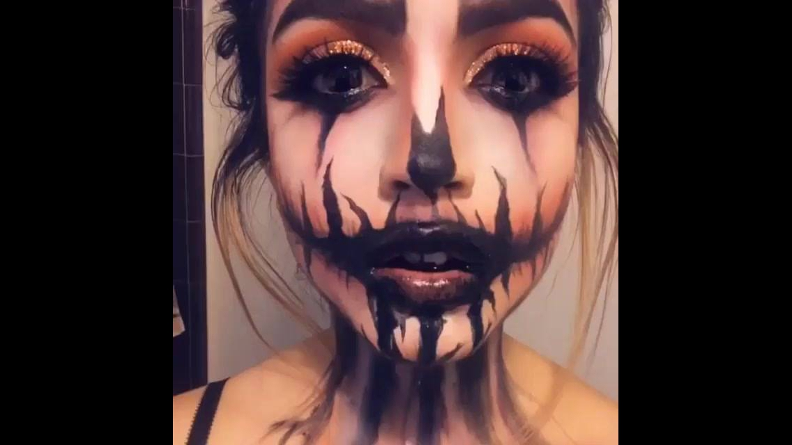 Inspiração de maquiagem para Halloween