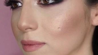 Inspiração De Maquiagem Para O Dia, Linda E Delicada, Vale A Pena Conferir!
