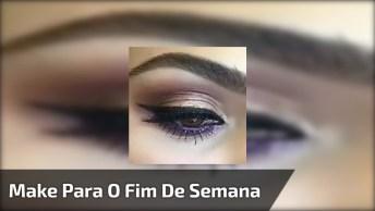 Inspiração De Maquiagem Para O Fim De Semana, Olha Só Esta Combinação De Sombra!