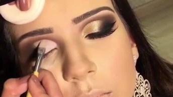 Inspiração De Maquiagem Para Os Olhos Lindíssima, Confira!
