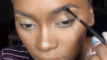 Inspiração De Maquiagem Para Pele Negra, Olha Só Que Perfeição!