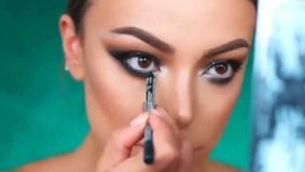 Inspiração De Maquiagem Para Sexta-Feira A Noite, Olha Só Que Perfeita!