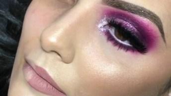 Inspiração De Maquiagem Rosa Pink Para Festa, Mais Uma Opção Para Você!