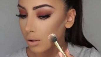 Inspiração De Maquiagem Super Linda, Vale A Pena Conferir!