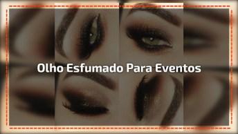 Inspiração De Olho Esfumado Maravilhoso Para Eventos Especiais!