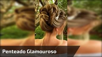 Inspiração De Penteado Glamouroso Para Noivas, Veja Que Espetáculo!