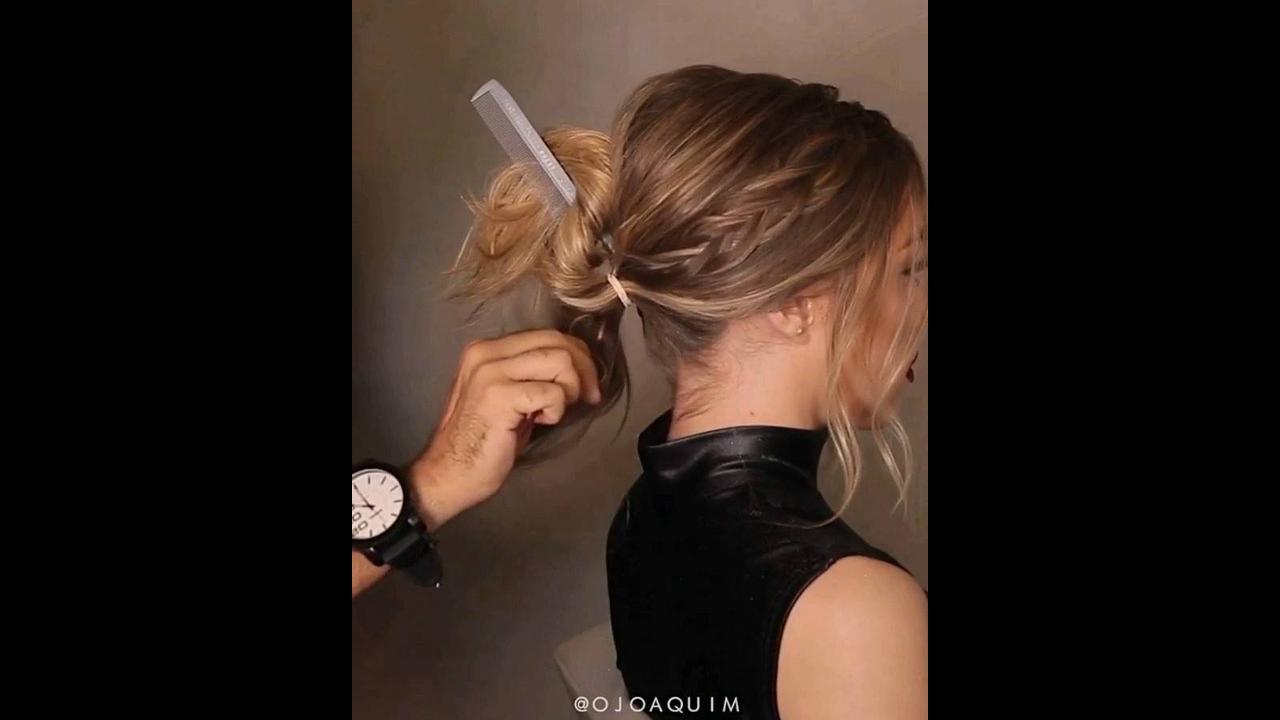 Inspiração de penteado para formandas