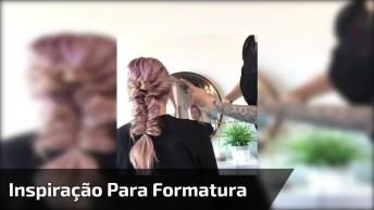 Inspiração De Penteado Para Formatura, Olha Só Que Lindo Penteado!