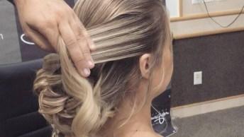 Inspiração De Penteado Para Formatura Para Cabelos Grandes, Veja Que Lindo!
