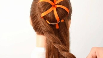 Inspiração De Penteado Para Halloween, Olha Só Que Lindo Que Fica!
