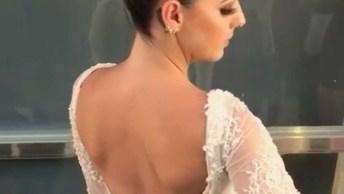 Inspiração De Penteado Para Noiva, É Um Lindo Penteado, Confira!