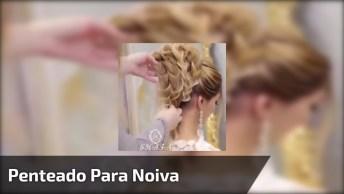 Inspiração De Penteado Para Noiva, Parece Uma Obra De Arte De Tão Lindo!
