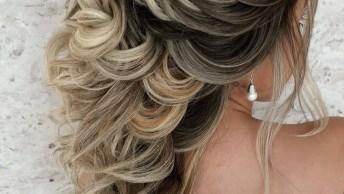 Inspiração De Penteado Para Noiva, Uma Verdadeira Obra De Arte!