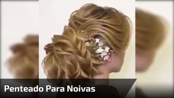 Inspiração De Penteado Para Noivas, Ele É Simplesmente Perfeito!