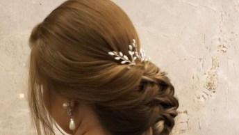 Inspiração De Penteado Para Noivas, Formandas, Madrinhas De Casamento!