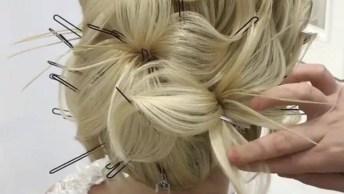 Inspiração De Penteado Para Noivas, Veja Que Que Linda Obra De Arte!
