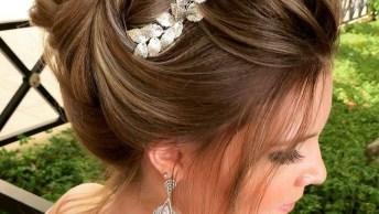 Inspiração De Penteado Para Noivas, Você Noivinha De Plantão Veja Que Lindo!