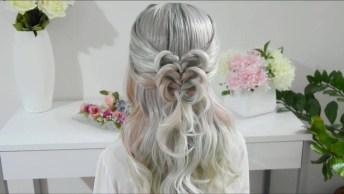 Inspiração De Penteado Para Você Fazer Em Suas Clientes, Olha Só Que Lindo!