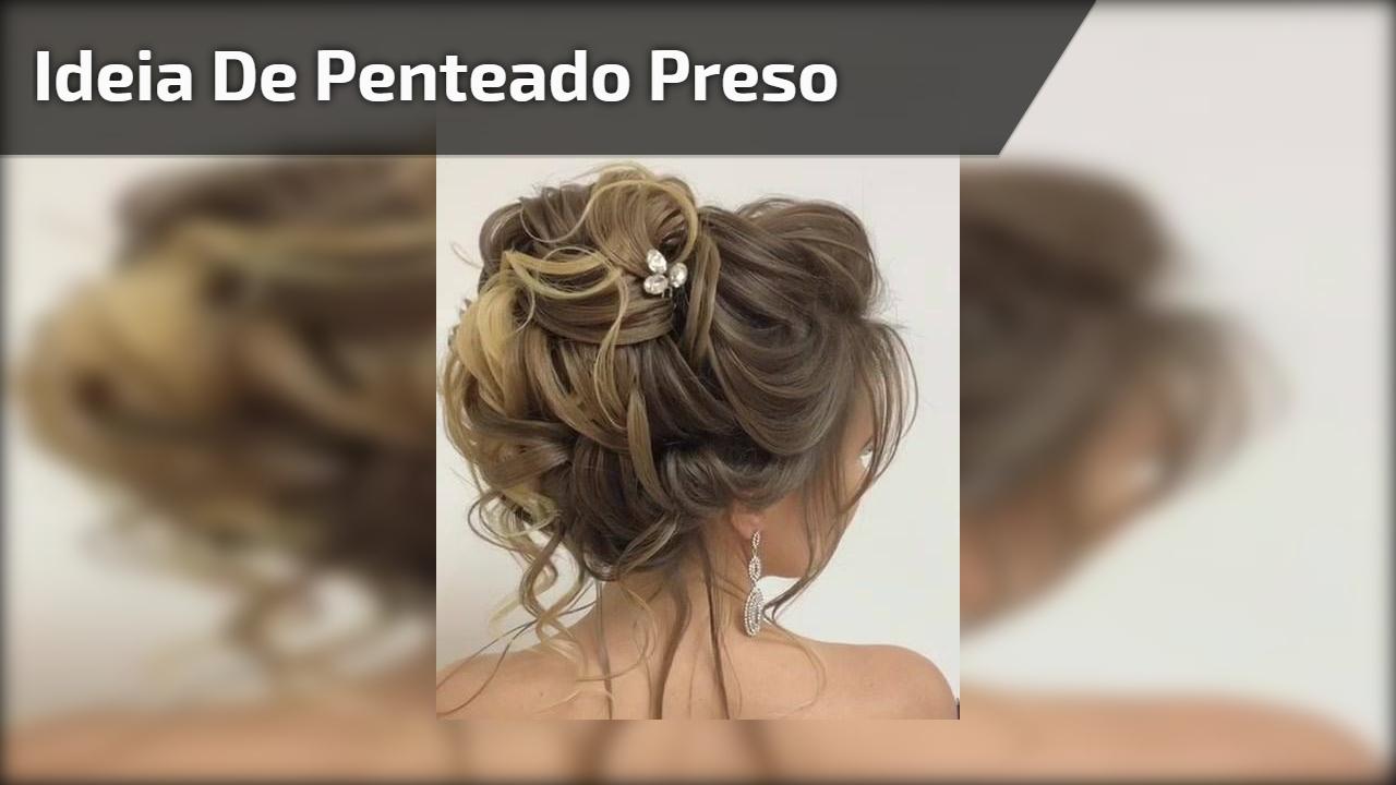 Inspiração de penteado preso, você vai amar essa ideia, confira!