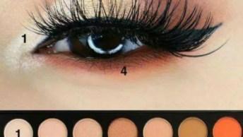 Inspiração De Sombra Para Os Olhos Lindíssimas, Vale A Pena Conferir!