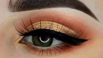 Inspiração De Sombra Para Os Olhos, Veja Que Linda Esta Cor!
