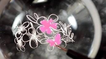 Inspiração De Unha Decorada Com Desenhos Lindos, Vale A Pena Conferir!