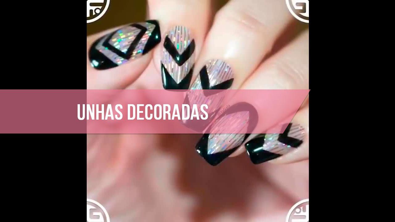 Inspiração de unhas decoradas maravilhosas