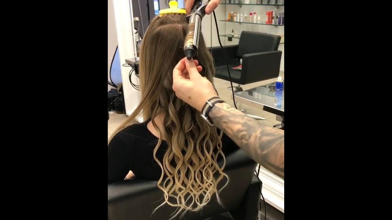 Inspirações de cabelos enrolados com Babyliss