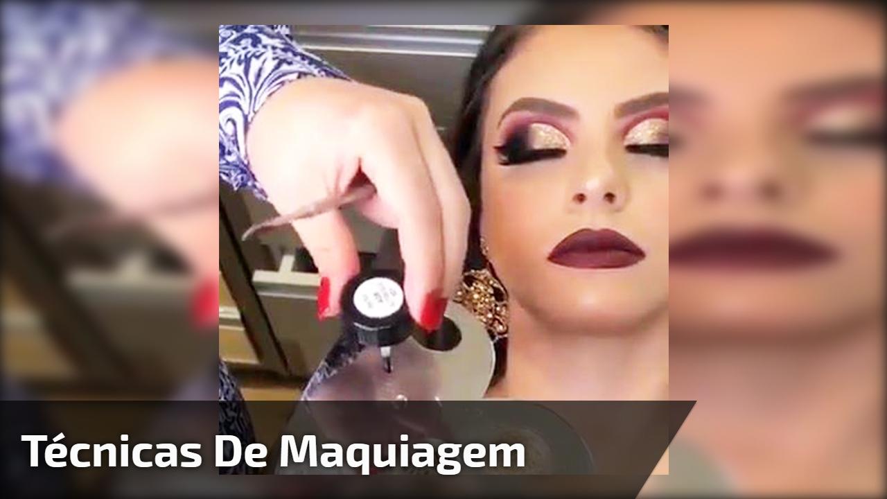Técnicas de maquiagem