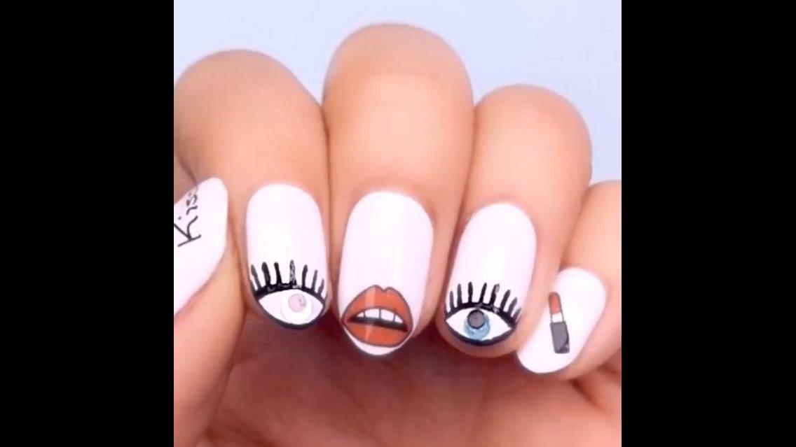 Inspirações de unhas decoradas para você fazer as suas