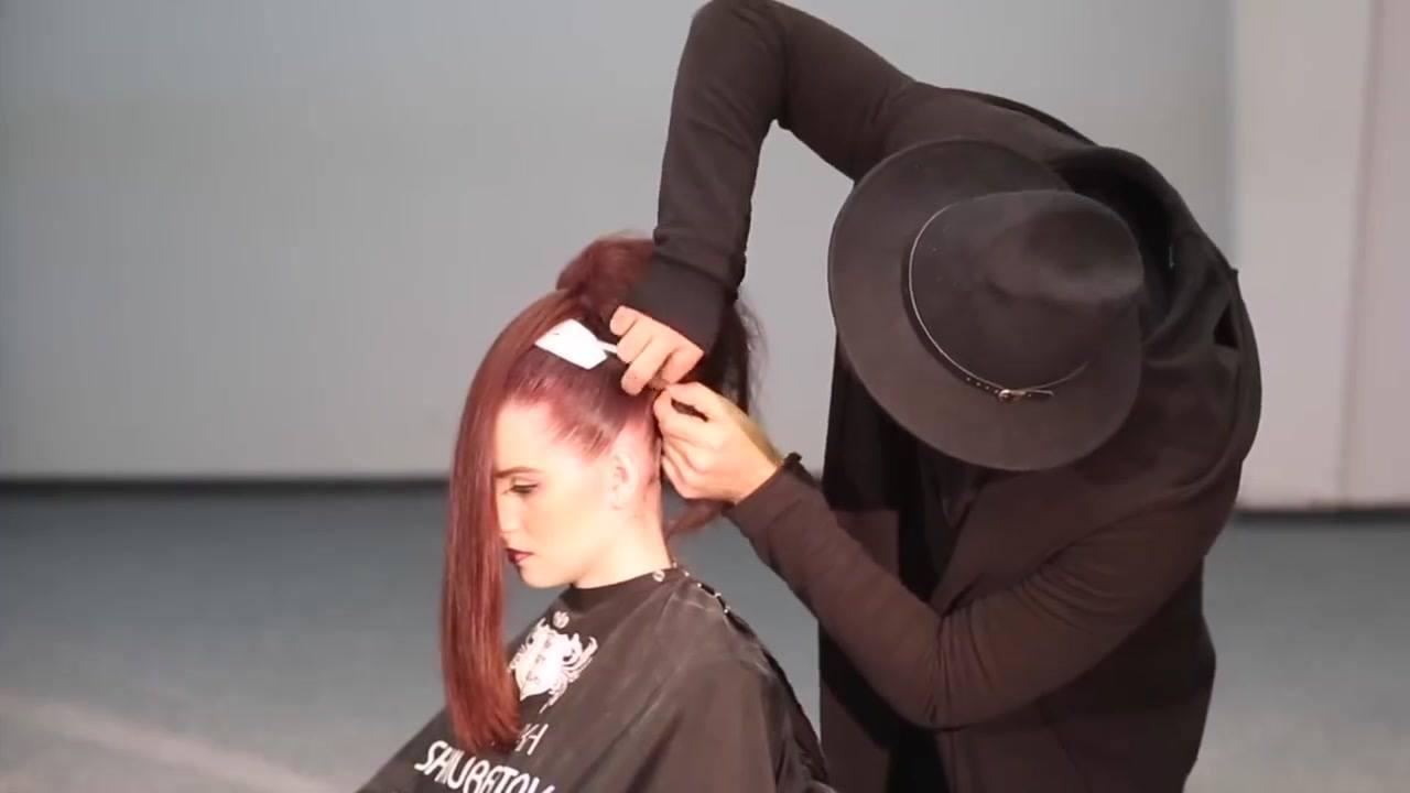 Isso não é um penteado, é uma obra de arte