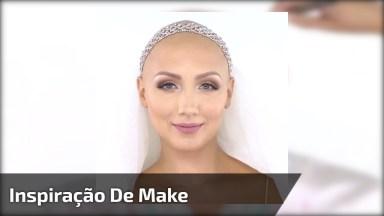 Linda Transformação Com Maquiagem, Ela Ficou Maravilhosa, Confira!