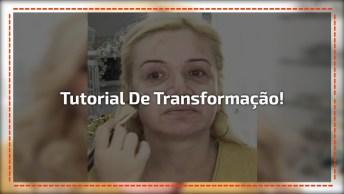 Linda Transformação Com Maquiagem, Toda Mulher É Linda, A Maquiagem Só Realça!